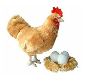 Juguetes para gallinas