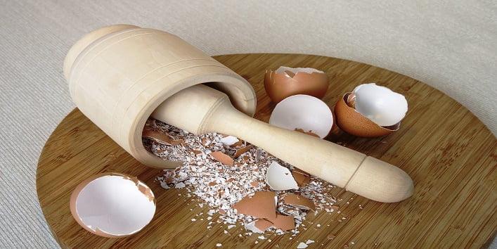 mascarilla facial de cascara de huevo